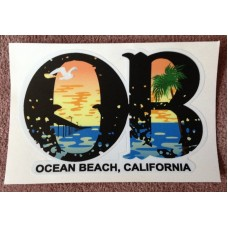 "OB Decal (new design) 4""x6"" (pack of 3)"