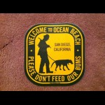 Dont Feed Bum Sticker (pack of 3)