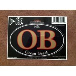 "OB Sticker 6"" x 3.5"" Black (pack of 3)"