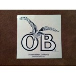 "OB Sticker        3""x3""     (pack of 3)"