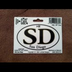 "SD Sticker 3.5""x2""    (pack of 3)"